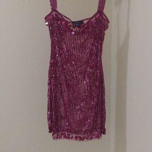 Arden B Sequin Mini Dress